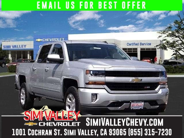 2016 Chevrolet Silverado 1500 LT Silver Crew Cab 4 Wheel Drive NEW ARRIVAL  If youre lookin