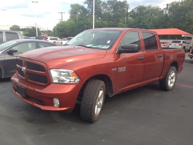 2013 Dodge Ram 1500 Express Orange CERTIFIED WARRANTY CLEAN ONE OWNER CARFAX HISTORY REPORT