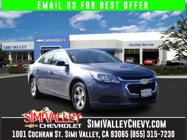 2015 Chevrolet Malibu LS Black The Simi Valley Chevrolet Advantage Talk about a deal NEW ARRIVA