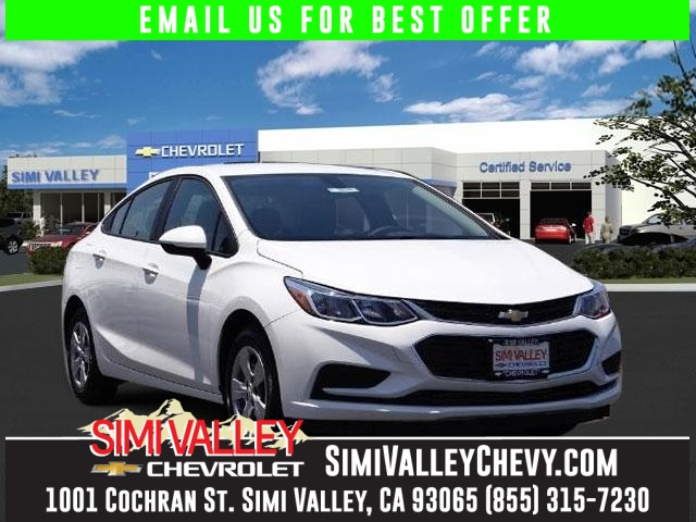 2016 Chevrolet Cruze LS White Turbo Wow Where do I start NEW ARRIVAL  If youre looking fo