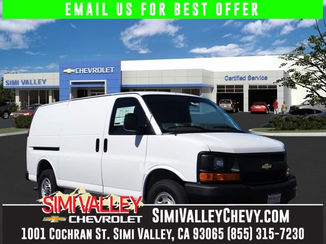 2015 Chevrolet Express Van G2500HD Work Van White Move quickly Perfect Color Combination NEW AR