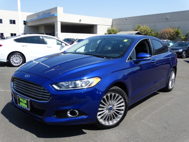 2015 Ford Fusion Titanium Blue Fusion Titanium Turbocharged Get yourself in here There are u