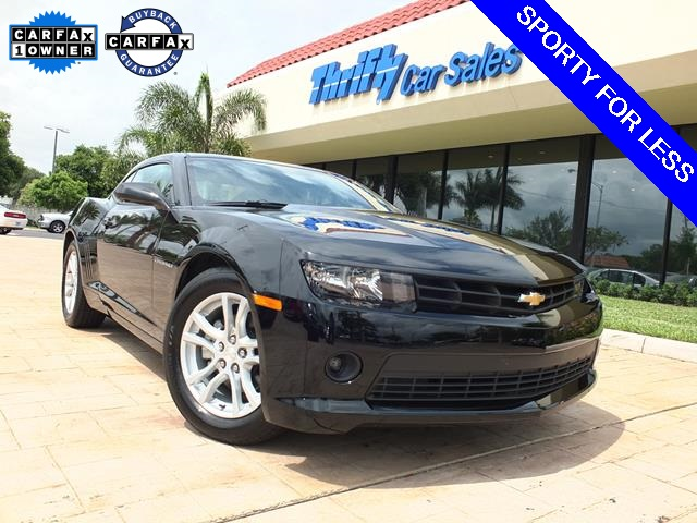 2015 Chevrolet Camaro 1LT Black ACCIDENT FREE CARFAX ONE OWNER AUTOMATIC CERTIFI
