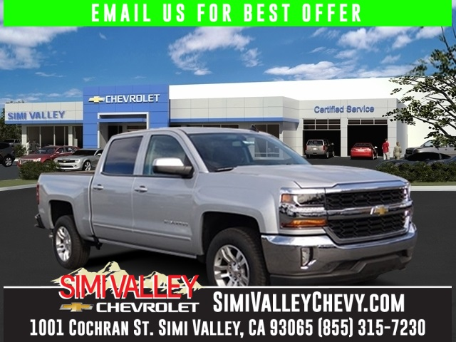 2016 Chevrolet Silverado 1500 LT Silver Short Bed Crew Cab NEW ARRIVAL  If youre looking fo