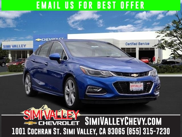 2016 Chevrolet Cruze Premier Turbo Theres no substitute for a Chevrolet NEW ARRIVAL  This ou