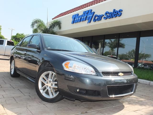 2013 Chevrolet Impala LTZ Gray ONE OWNER LEATHER AUTOMATIC CERTIFIED PRE-OWNED