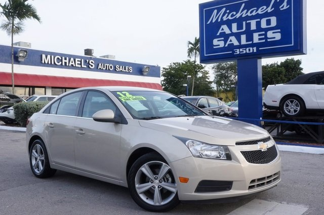 2012 Chevrolet Cruze LTZ Gold 99 POINT SAFETY INSPECTION AUTOMATIC and CLEAN CARFAX