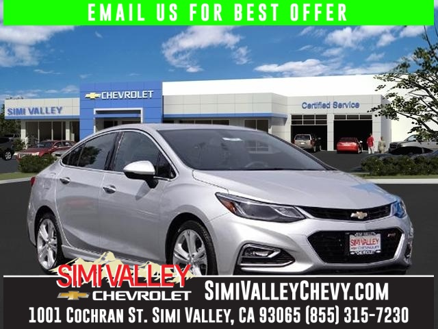 2016 Chevrolet Cruze Premier Silver Turbocharged Its time for Simi Valley Chevrolet NEW ARRIVA