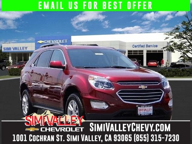 2017 Chevrolet Equinox LT Red Simi Valley Chevrolet means business Right SUV Right price NEW A