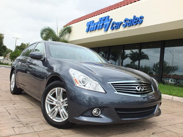 2013 Infiniti G37 X Gray ACCIDENT FREE CARFAX ONE OWNER LEATHER AUTOMATIC MO