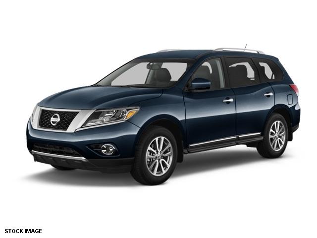 2014 Nissan Pathfinder SL Blue 5577 Axle RatioHeated Front  Rear Bucket SeatsLeather Seating S
