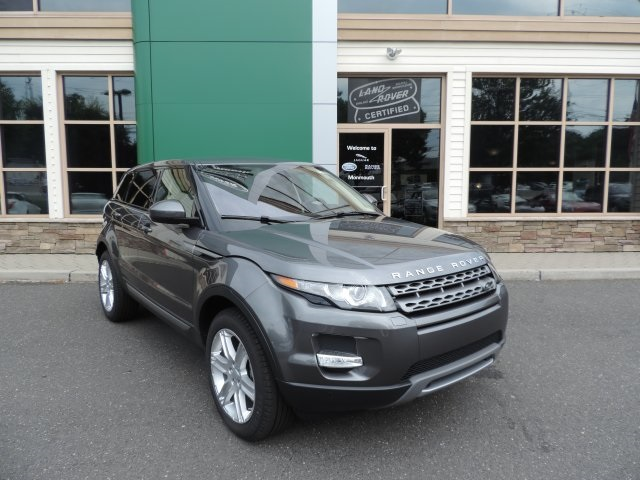 2015 Land Rover Range Rover Evoque Pure Gray 375 Axle Ratio18 Lightweight Alloy WheelsFront B