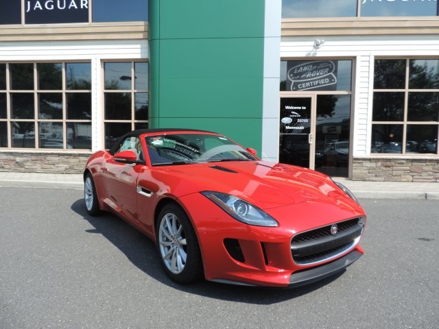 2016 Jaguar F-TYPE Red 14-Way Sport-Style Front SeatsLeather  Suedecloth Seating SurfacesRadio