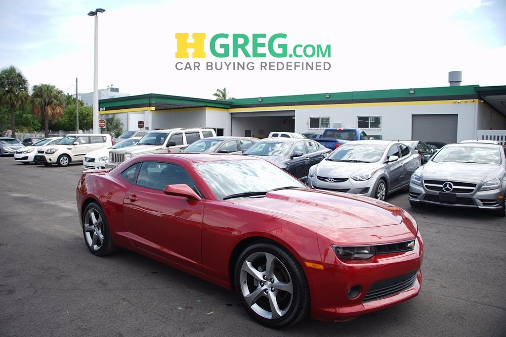 2014 Chevrolet Camaro 1LT Red CLEAN CARFAX Great Easy Financing Terms for all Credits