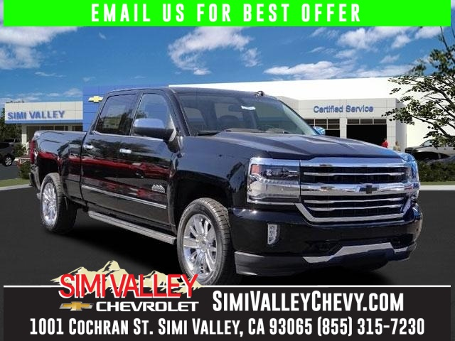 2016 Chevrolet Silverado 1500 High Country Black Short Bed Nav NEW ARRIVAL  If youre lookin