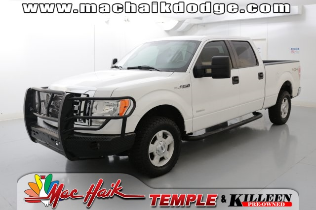 2012 Ford F-150 XLT White CLEAN ONE OWNER CARFAX HISTORY REPORT 4 WHEEL DRIVE ECOBOOST