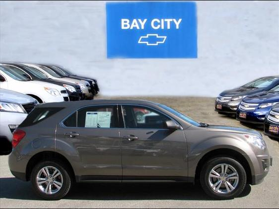 2010 Chevrolet Equinox LS Gray GM Certified and AWD Dont bother looking at any other SUV Wow W