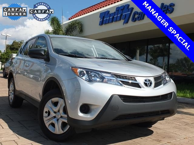 2013 Toyota RAV4 LE Silver ACCIDENT FREE CARFAX AUTOMATIC STILL UNDER FACTORY WARRANT