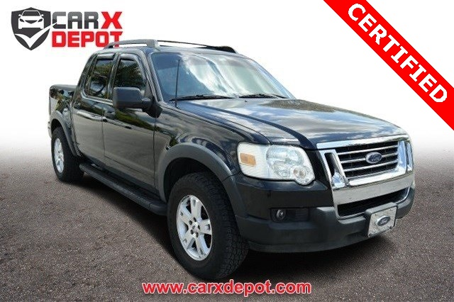2007 Ford Explorer Sport Trac XLT Black CLEAN CARFAX ONE OWNER LOW MILES NON-SMO