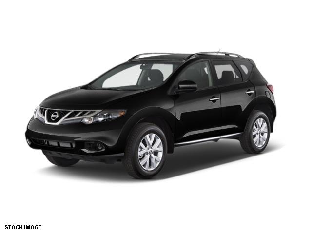 2014 Nissan Murano SV Black 5173 Axle Ratio18 Aluminum Alloy WheelsCloth Seat TrimRadio AMF