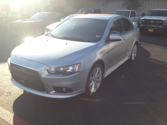 2012 Mitsubishi Lancer GT Silver GT PACKAGE SUPER CLEAN ONE OWNER CARFAX HISTORY REPORT