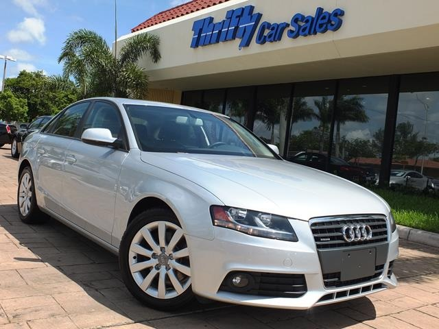 2012 Audi A4 20T Premium Silver LEATHER AUTOMATIC MOONROOFSUNROOF  TURBO  a
