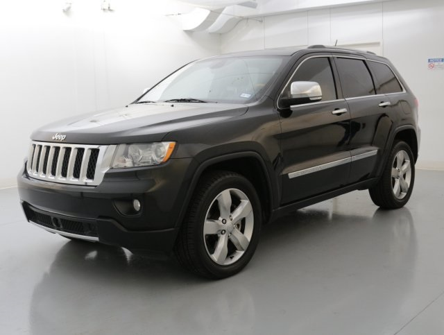 2011 Jeep Grand Cherokee Overland Black CERTIFIED WARRANTY CLEAN CARFAX HISTORY REPORT What