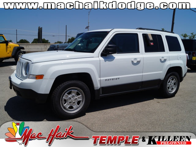 2015 Jeep Patriot Sport White Get ready to ENJOY Wow Where do I start Zoom Zoom Zoom This