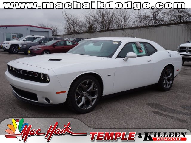 2015 Dodge Challenger White Stability and traction control keep you grounded Sticking power with