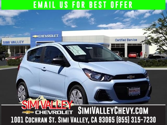 2016 Chevrolet Spark LS Blue Dont wait another minute Hurry and take advantage now NEW ARRIVAL