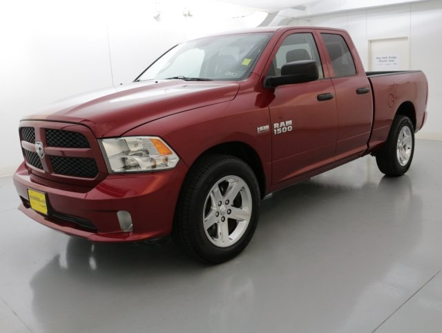 2014 Dodge Ram 1500 Red CERTIFIED WARRANTY CLEAN ONE OWNER CARFAX HISTORY REPORT This gorg