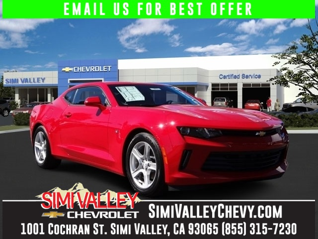 2016 Chevrolet Camaro 1LT Red 6spd Get ready to ENJOY NEW ARRIVAL  Take your hand off the mo