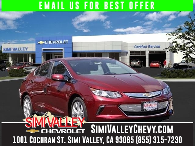 2017 Chevrolet Volt Premier Red WOW HYBRID Its time for Simi Valley Chevrolet NEW ARRIVAL