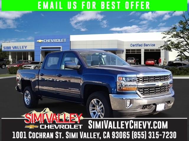 2016 Chevrolet Silverado 1500 LT Blue 4WD Crew Cab NEW ARRIVAL  This stunning 2016 Chevrolet