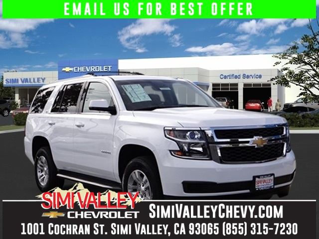 2016 Chevrolet Tahoe LT White Flex Fuel Move quickly NEW ARRIVAL  If youre looking for comf