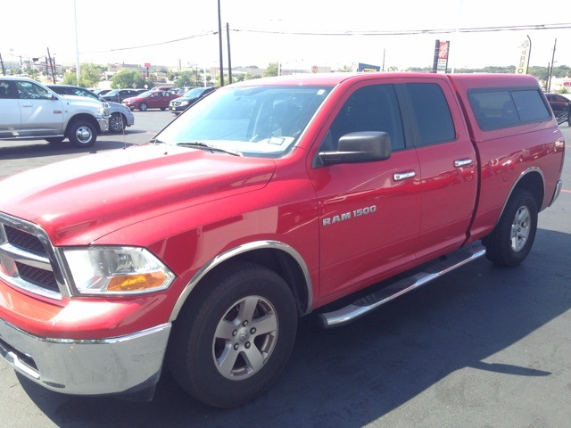 2011 Dodge Ram 1500 SLT Red CLEAN ONE OWNER CARFAX REPORT SLT PACKAGESet down the mouse be