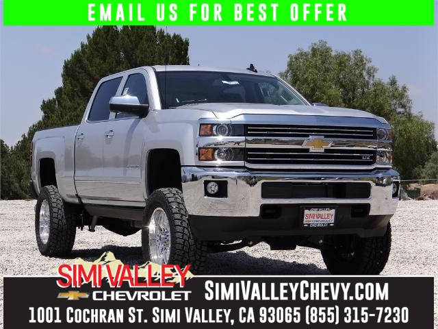 2016 Chevrolet Silverado 2500HD LTZ Silver Simi Valley Chevrolet means business In a class by it