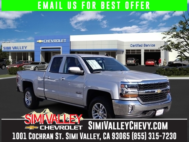 2016 Chevrolet Silverado 1500 LT Silver 4WD Extended Cab NEW ARRIVAL  This terrific 2016 Che