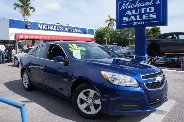 2013 Chevrolet Malibu LT Blue 99 POINT SAFETY INSPECTION and CLEAN TITLE Right car Righ