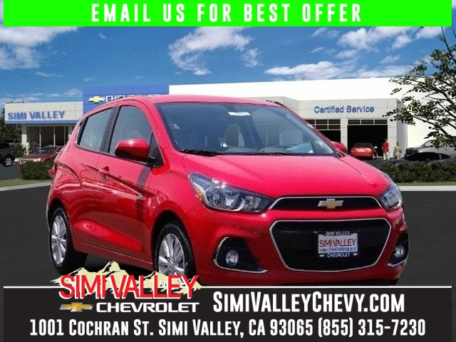 2016 Chevrolet Spark 1LT Red Perfect Color Combination Simi Valley Chevrolet means business NEW
