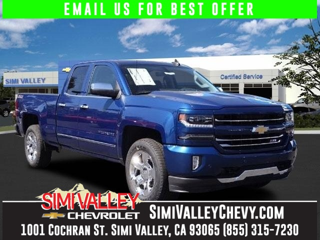 2016 Chevrolet Silverado 1500 LTZ Blue 4X4 Short Bed NEW ARRIVAL  There is no better time th