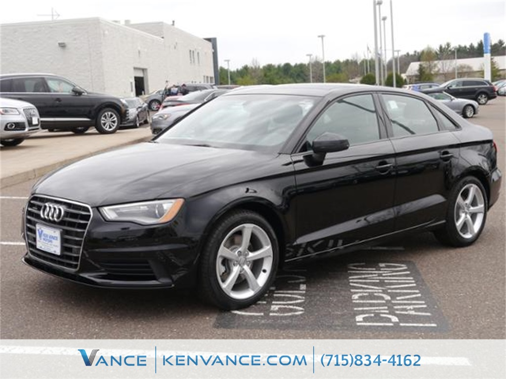 2016 Audi A3 Black Ken Vance Car City - Honda means business In a class by itself Dont pay t
