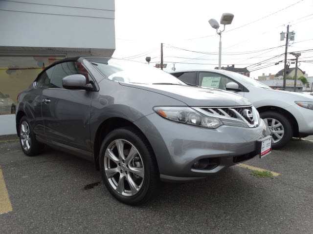 2014 Nissan Murano CrossCabriolet Base Gray Nissan Certified What are you waiting for Its time