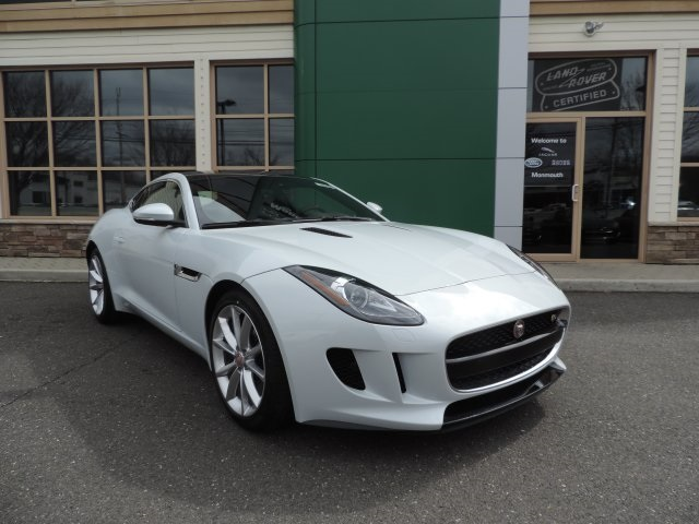 2016 Jaguar F-TYPE S White 14-Way Sport-Style Front SeatsLeather  Suedecloth Seating SurfacesR