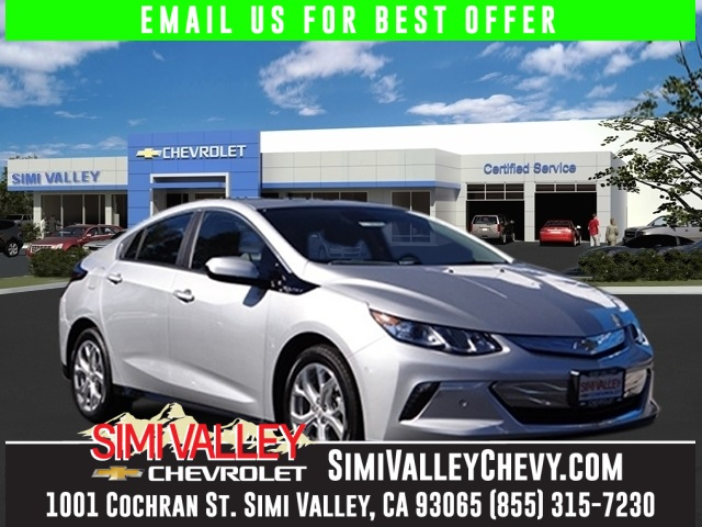 2016 Chevrolet Volt Premier Silver Call ASAP Join us at Simi Valley Chevrolet NEW ARRIVAL  C