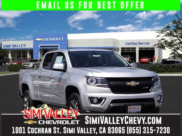 2016 Chevrolet Colorado Z71 Silver Wow Z71 4WD NEW ARRIVAL  If youre looking for comfort a