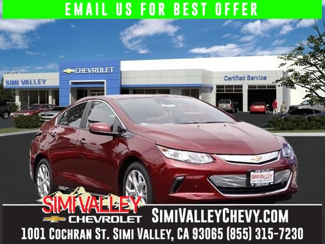 2017 Chevrolet Volt Premier Red Environmentally-Friendly Hybrid Its time for Simi Valley Chevro