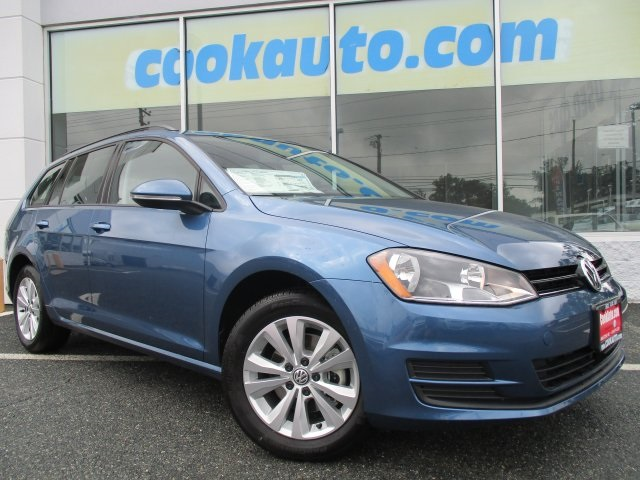 2017 Volkswagen Golf SportWagen S Blue All the right ingredients Turbo Here at Cook Volkswage