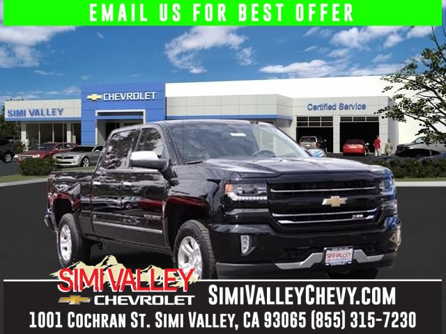 2016 Chevrolet Silverado 1500 LTZ Black Get yourself in here Real Winner NEW ARRIVAL  This f