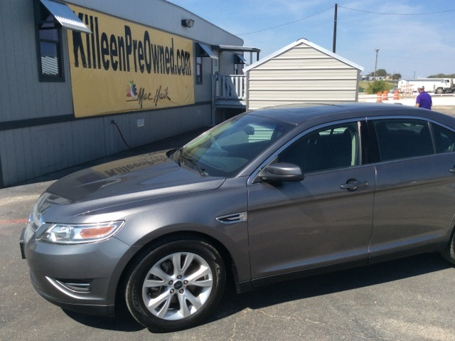 2011 Ford Taurus SEL Gray POWER SUNROOFMOONROOF CLEAN CARFAX HISTORY REPORT How much gas a